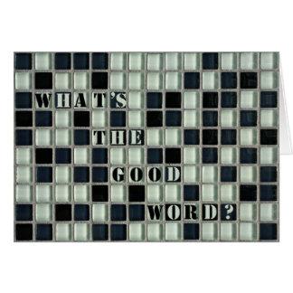 Wat is het Goede Woord? Kaart