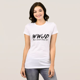 Wat Jesus zou doen T Shirt
