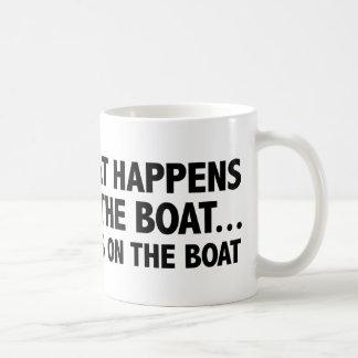 Wat op de Verblijven van de Boot… op de Boot Koffiemok