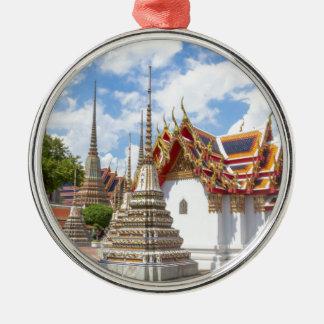 Wat Pho, Bangkok Zilverkleurig Rond Ornament
