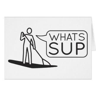 Wat SUP Kaart is