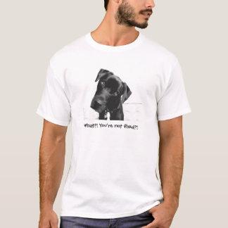 Wat?! U wordt niet bevestigd?! T Shirt
