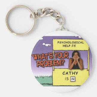 """""""Wat UW Probleem is? """"keychain Sleutelhanger"""