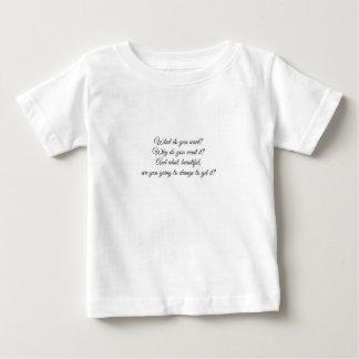 Wat wilt u? baby t shirts