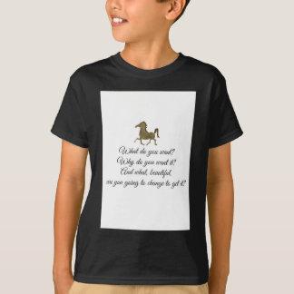 Wat wilt u eenhoorn? t shirt