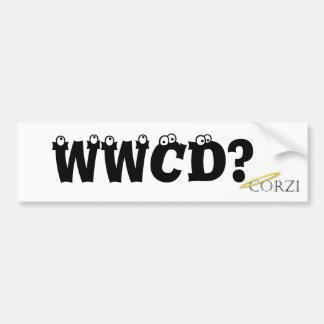 Wat zou Corzi doen? Bumpersticker