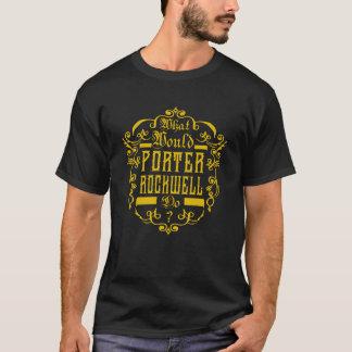 Wat zou de Portier Rockwell doen? Overhemd T Shirt