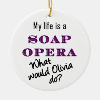 Wat zou Olivia doen? Ornament