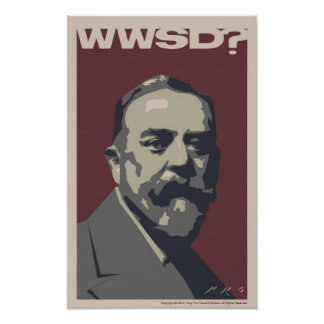 Wat zou Sargent doen? 30x20 poster