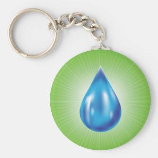 water daling sleutelhanger