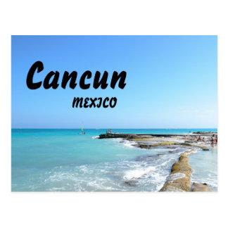 Water van de Toevlucht van het Strand van Mexico Briefkaart