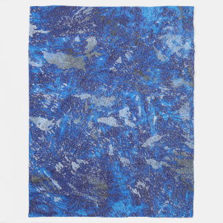 Watercolor Fleece Deken