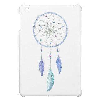 Watercolour Dreamcatcher met 3 Veren iPad Mini Hoesje