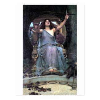 Waterhouse die de vrouw van Ulysses van de Kop Briefkaart