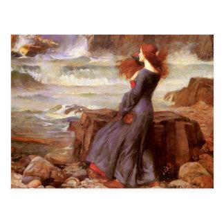 Waterhouse Miranda - de Storm Briefkaart