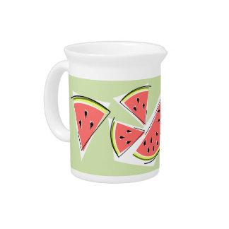Waterkruik van de Lijn van de watermeloen de Drink Pitcher