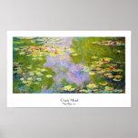 Waterlelies, 1919 Claude Monet Posters