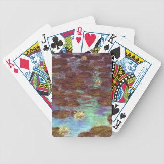 Waterlelies Bicycle Speelkaarten
