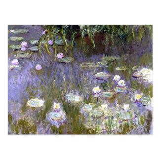 Waterlelies (c.1922) door Claude Monet Briefkaart