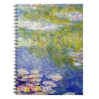 Waterlelies door Claude Monet Notitieboek