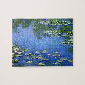 Waterlilies door Claude Monet, Vintage Fijn Art. Legpuzzel