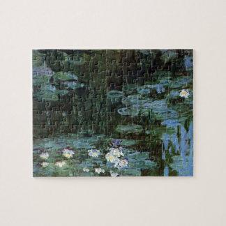 Waterlilies door Claude Monet, Vintage Fijn Art. Puzzel