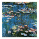 Waterlilies door Claude Monet, Vintage Impressioni