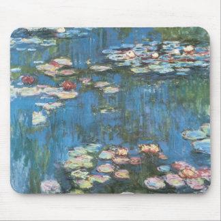 Waterlilies door Claude Monet, Vintage Muismat