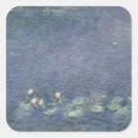 Waterlilies: Ochtend, 1914-18 Vierkant Sticker