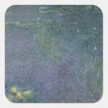 Waterlilies: Ochtend, 1914-18 Vierkant Stickers