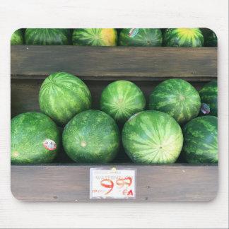 Watermeloenen voor het Fruit van de Meloen van de Muismat