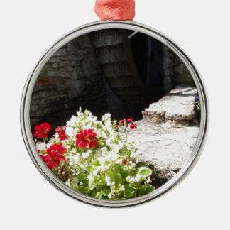 Waterrad Zilverkleurig Rond Ornament