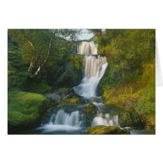 Waterval, Eiland van Skye, Schotland Briefkaarten 0