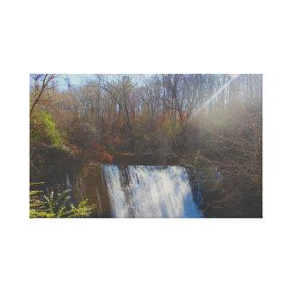 Watervallen Canvas Afdruk