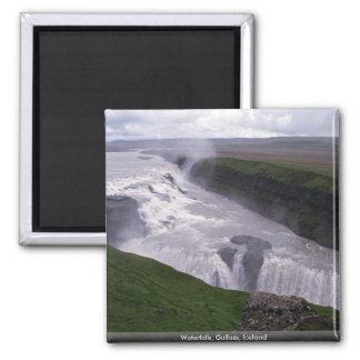 Watervallen, Gulfoss, IJsland Magneet