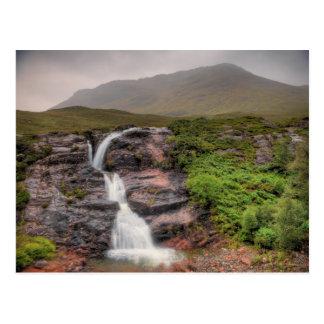 Watervallen in Glencoe Briefkaart