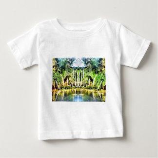 Watervallen van de wolk baby t shirts