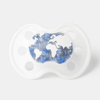 waterverf 7 van de wereldkaart fopspenen