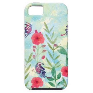 waterverf Botanische tuin VI Tough iPhone 5 Hoesje