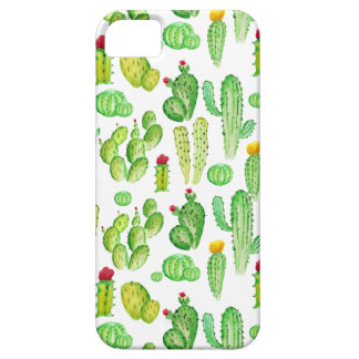 waterverf cactus barely there iPhone 5 hoesje