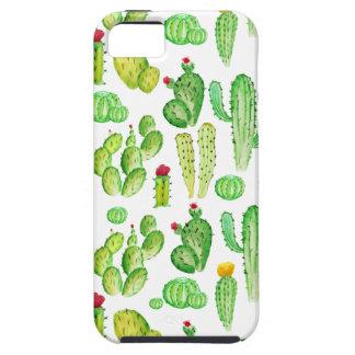waterverf cactus tough iPhone 5 hoesje