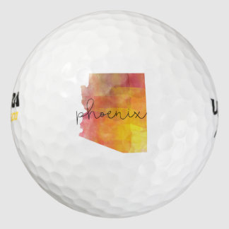 Waterverf Phoenix Arizona Golfballen