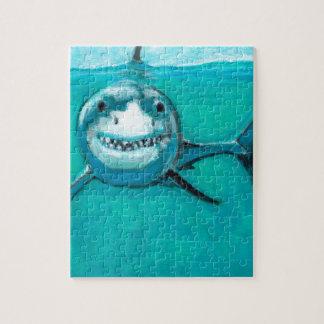 """""""Wayne"""" de Grote Witte Haai Puzzel"""