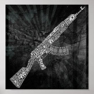 Weaponised (de stem van tyrannen) poster