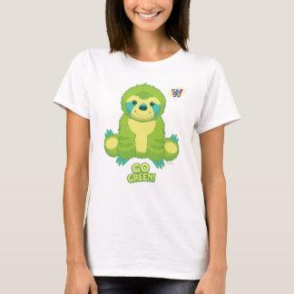 Webkinz gaat Groen Patroon T Shirt