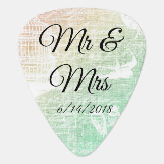 Wedding van M. & van Mevr. Guitar Picks Plectrum