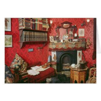 Wederopbouw van de Zaal van Sherlock Holmes Kaart