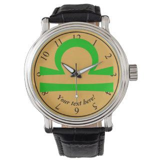 Weegschaal Horloge