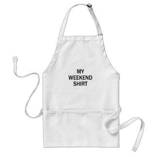 weekend overhemd standaard schort