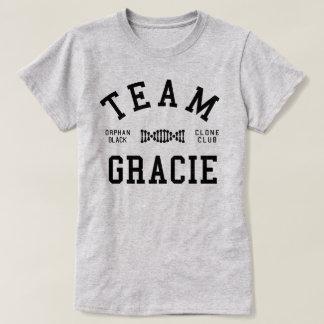Wees Zwart Team Gracie T Shirt